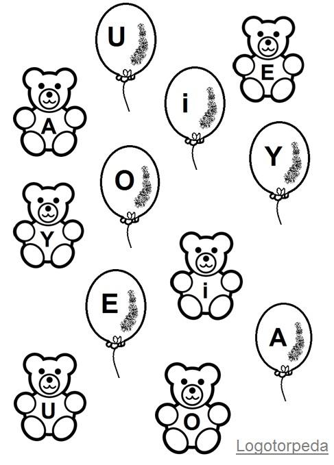 misiowo-balonowe samogłoski