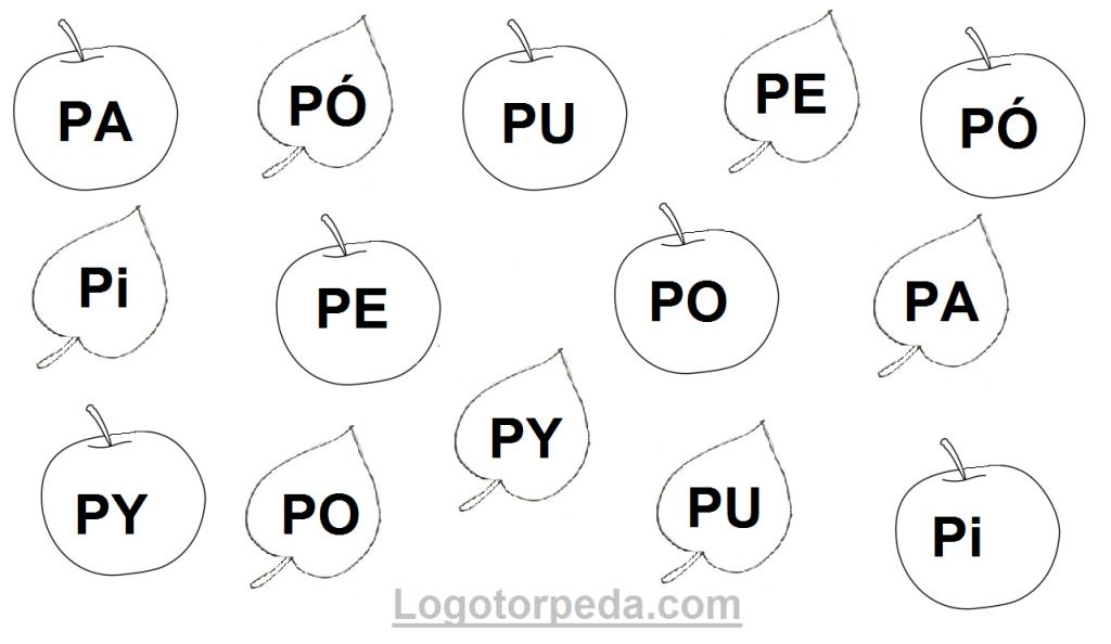jabłka i listki PA