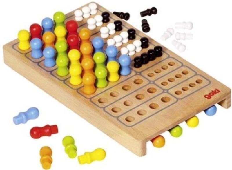 Mały mistrz logiki GOKI - gra logiczna dla najstarszych